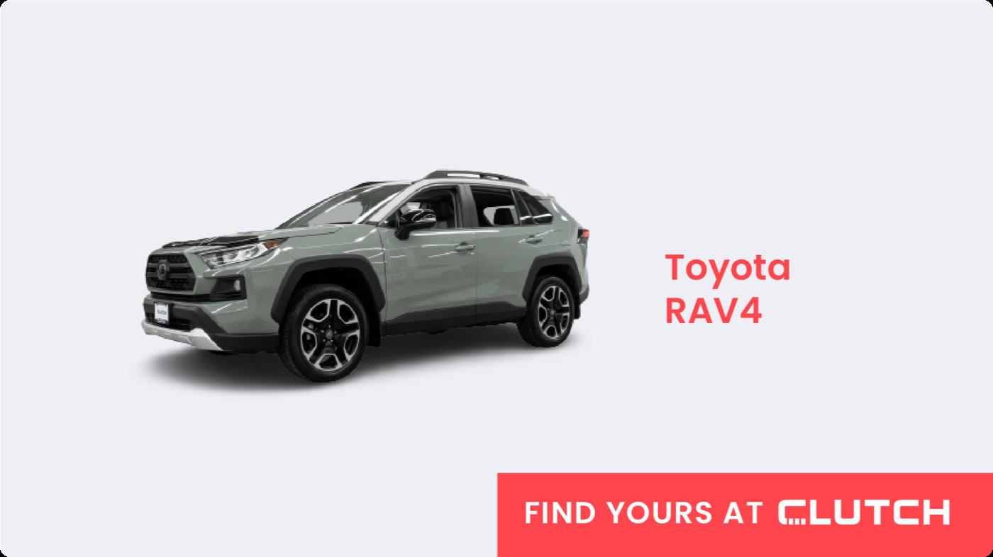 Best Crossover SUV in Canada: Toyota RAV4