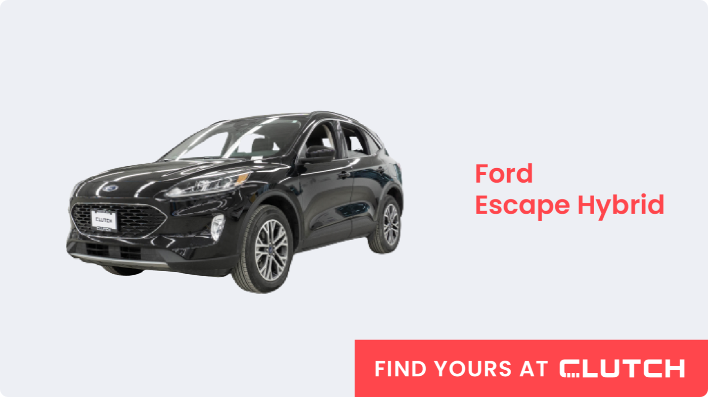 Most Fuel-Efficient SUV in Canada: Ford Escape Hybrid