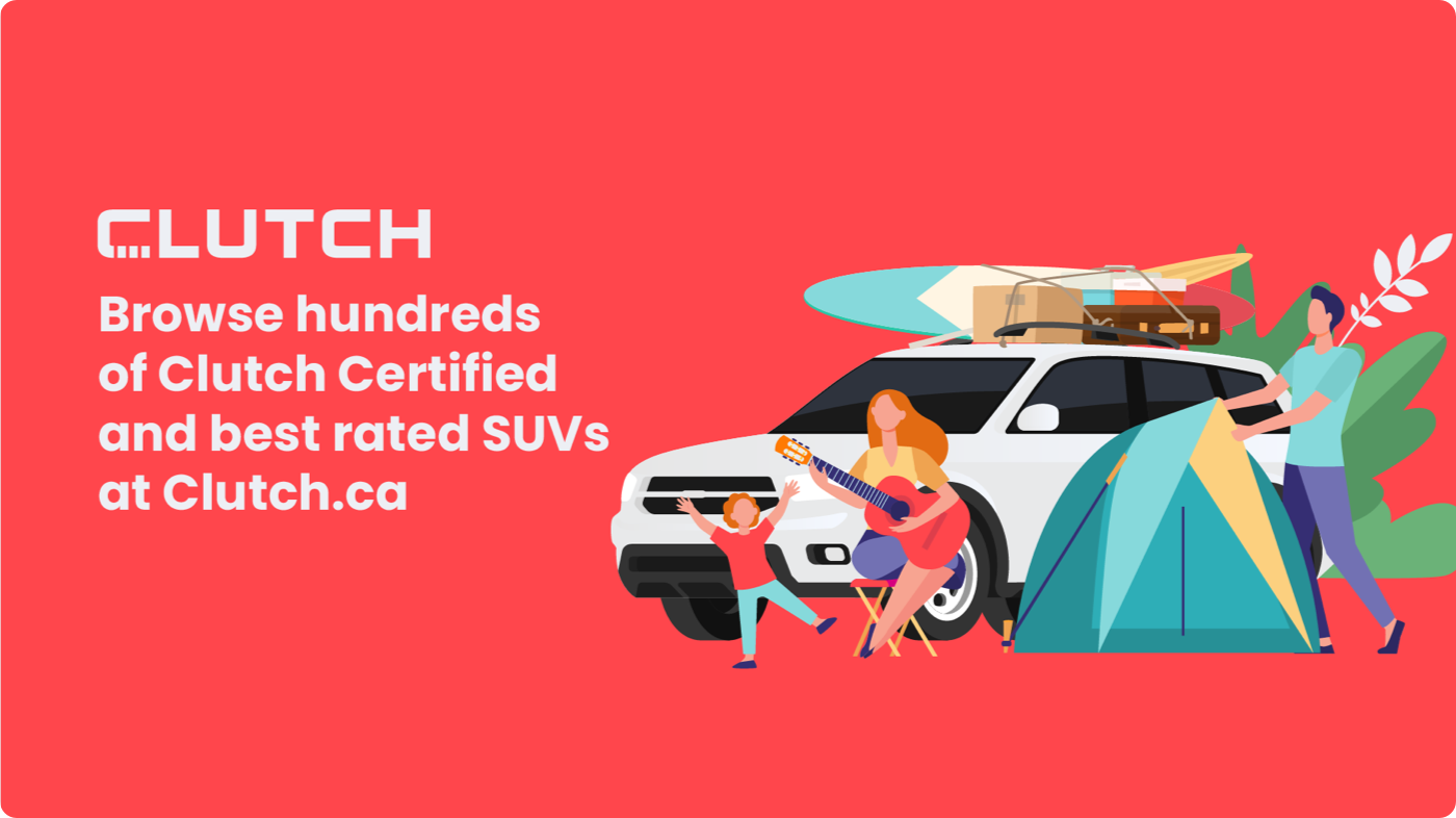 Clutch is the Best Online Car Marketplace for the Best SUV in Canada