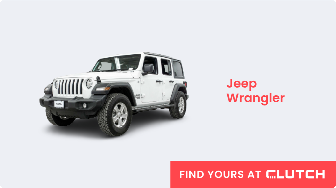 Best SUV for Off-Road Excursions: Jeep Wrangler