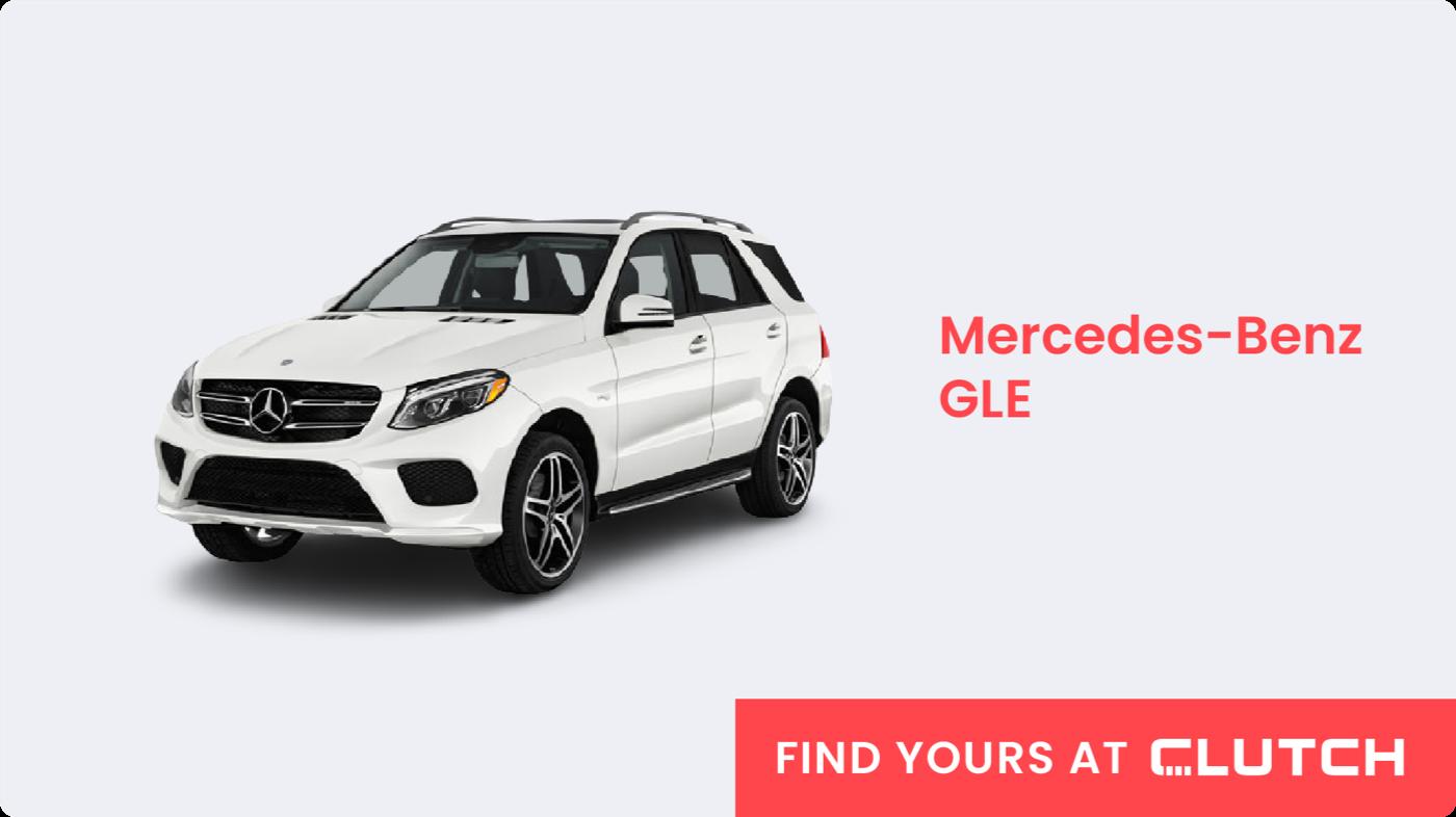 Best Luxury SUV: Mercedes-Benz GLE