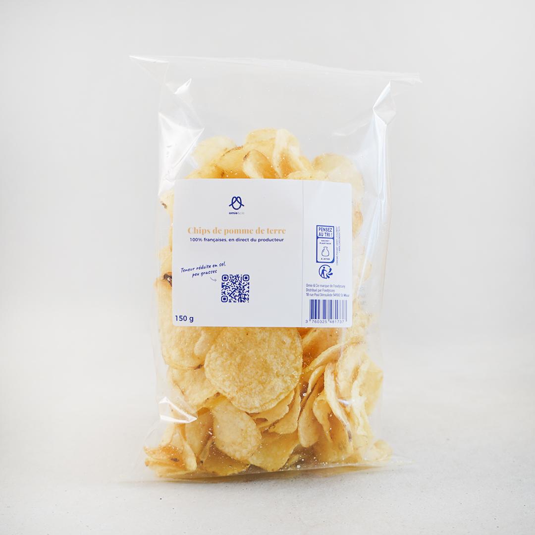 Chips finement salées - 150g