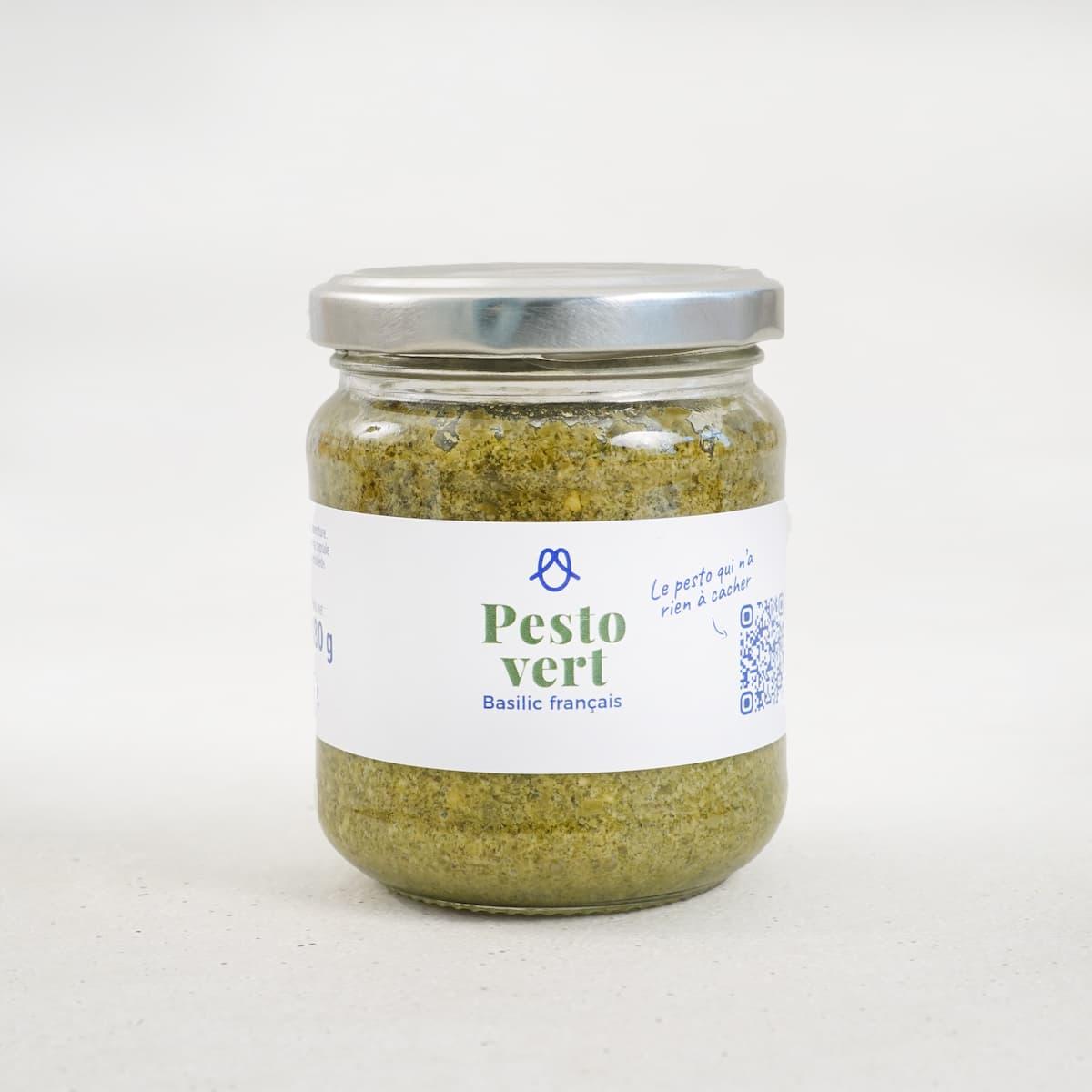 Pesto vert - basilic français - 180g