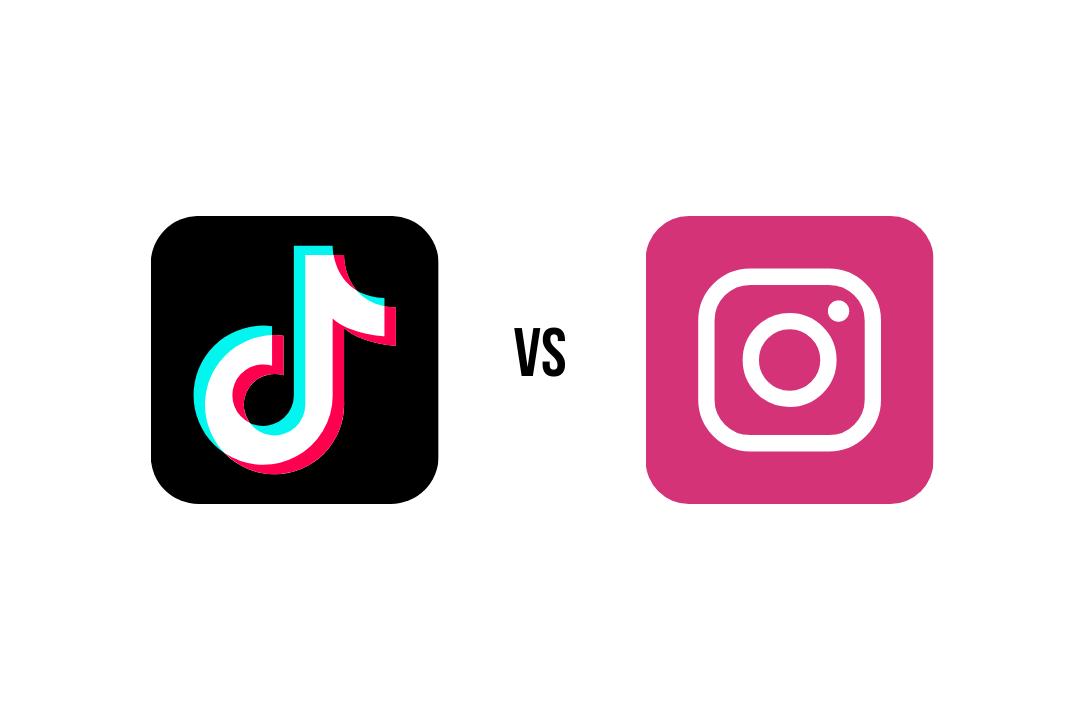 TikTok vs Instagram Reel