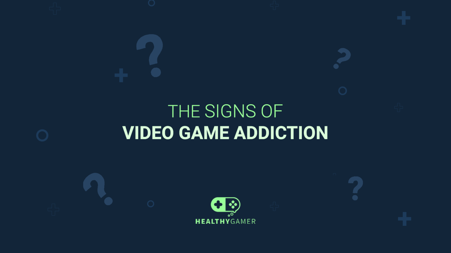 What are the Signs of Video Game Addiction?