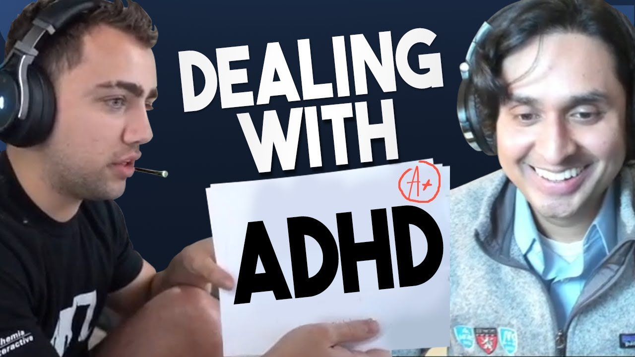 How to Deal with Your ADHD ft. Mizkif