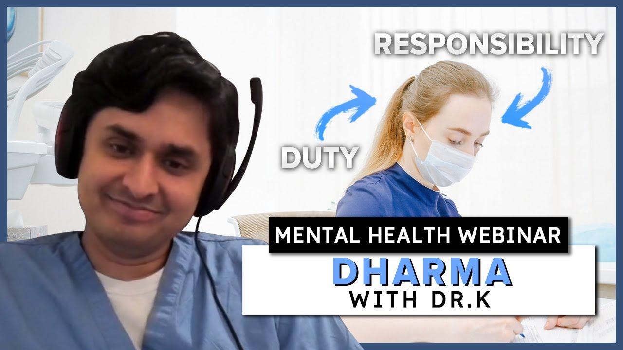 Mental Health Bootcamp: Dharma   Healthy Gamer Webinar #5