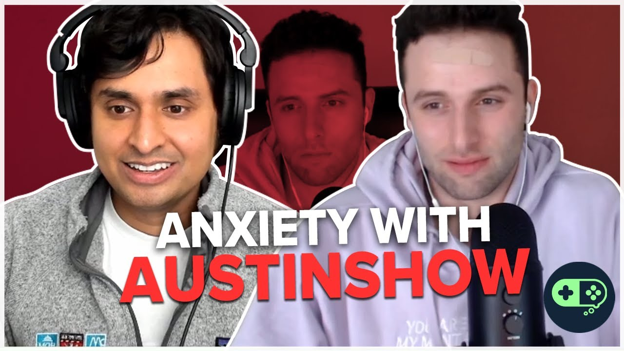 How to Deal with Anxiety Ft. AustinShow   Dr. K Interviews