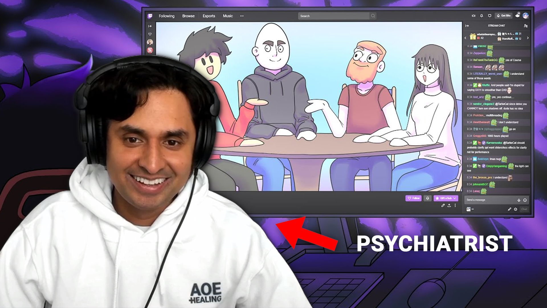 Parasocial Relationships on Twitch: A Psychiatrist's Perspective