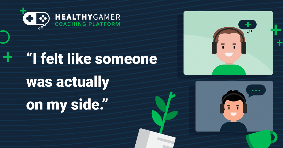Healthy Gamer Personal Coaching success story and testimonial interview