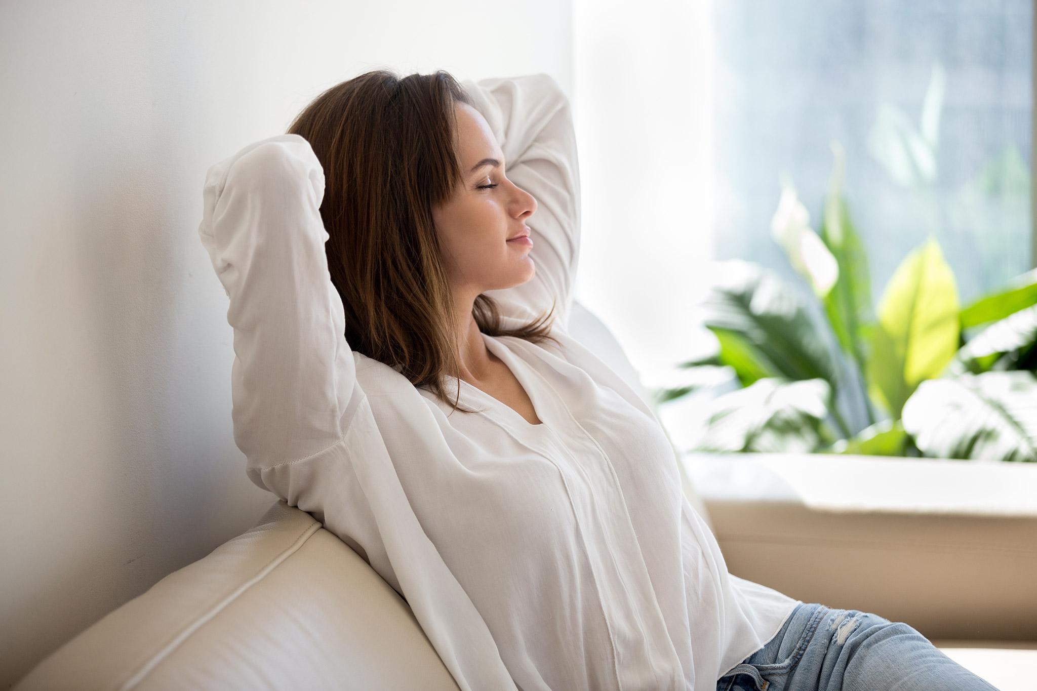 Air Mavericks Woman Breathing Fresh Air