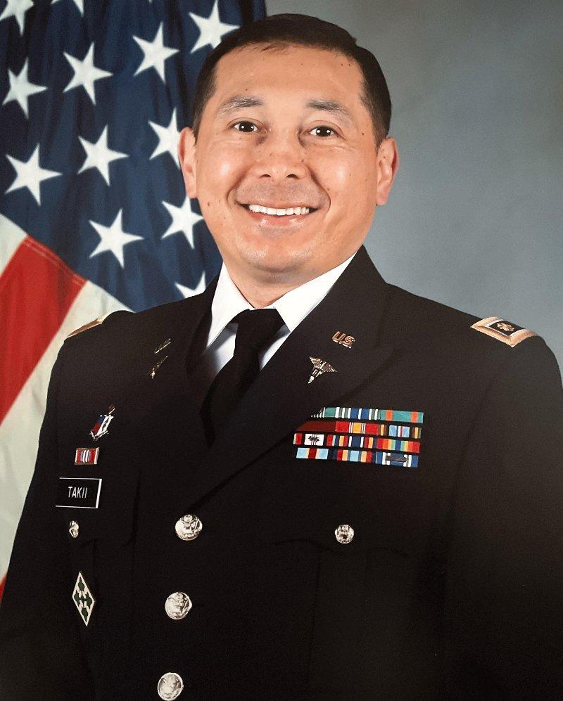 head of doctor Takii
