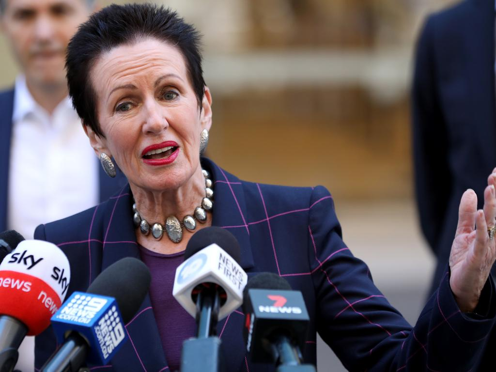 """Sydney Lord Mayor Clover Moore has described the course as a """"scandalous"""" misuse of land intended for public use. Picture: Damian Shaw"""