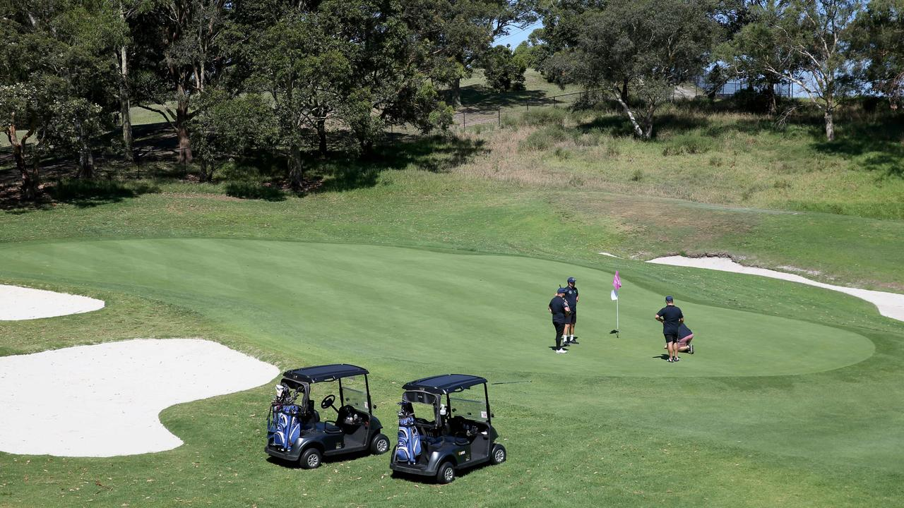 Moore Park Golf Course. Picture: Damian Shaw