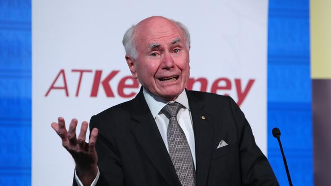 Proving John Howard's point about policy evolution from the backbench, not long ago only a handful people, including the Aussie Squad, talked about fixing super. Now it is fashionable. Picture: Kym Smith