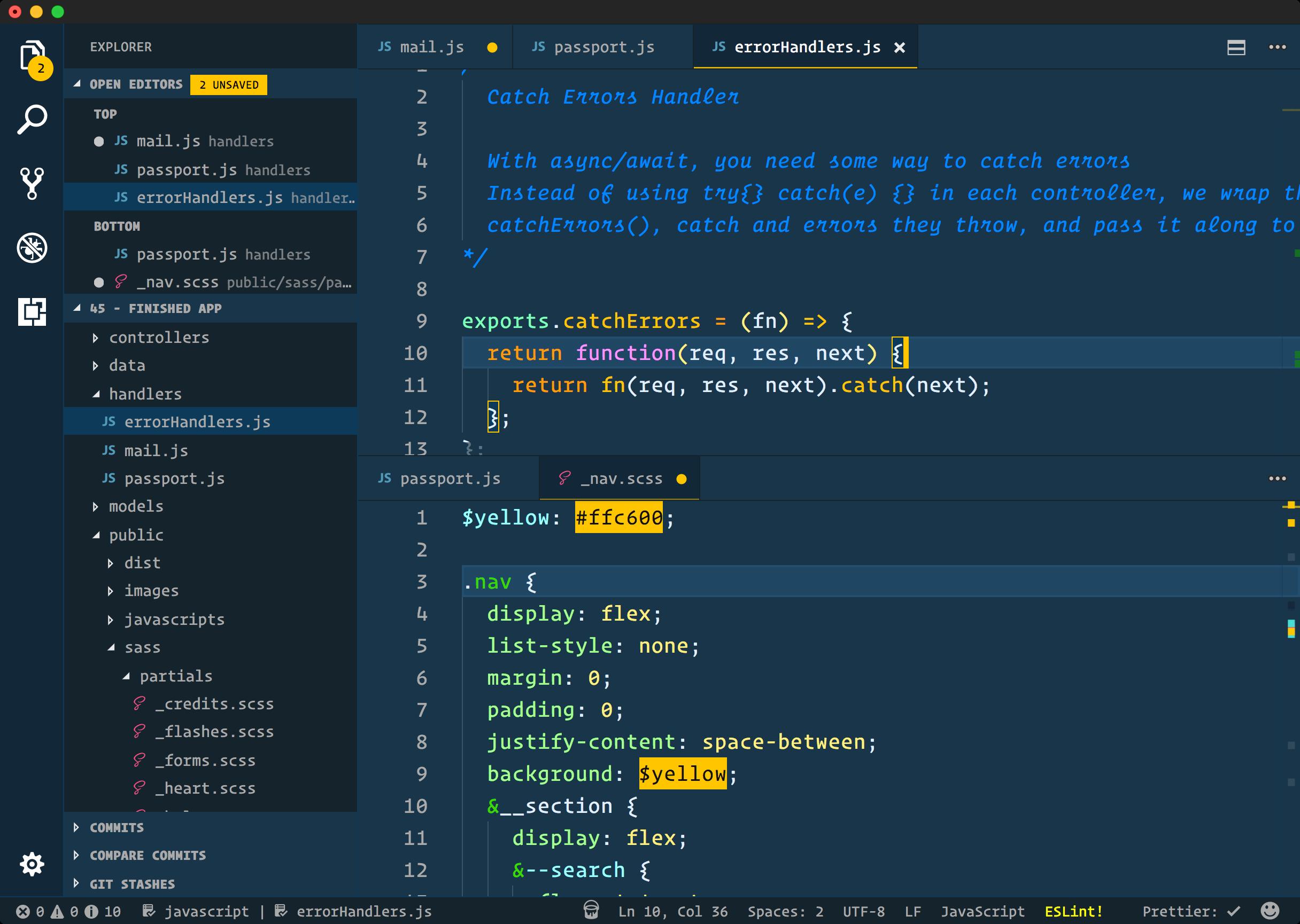 Cobalt2 for VS Code