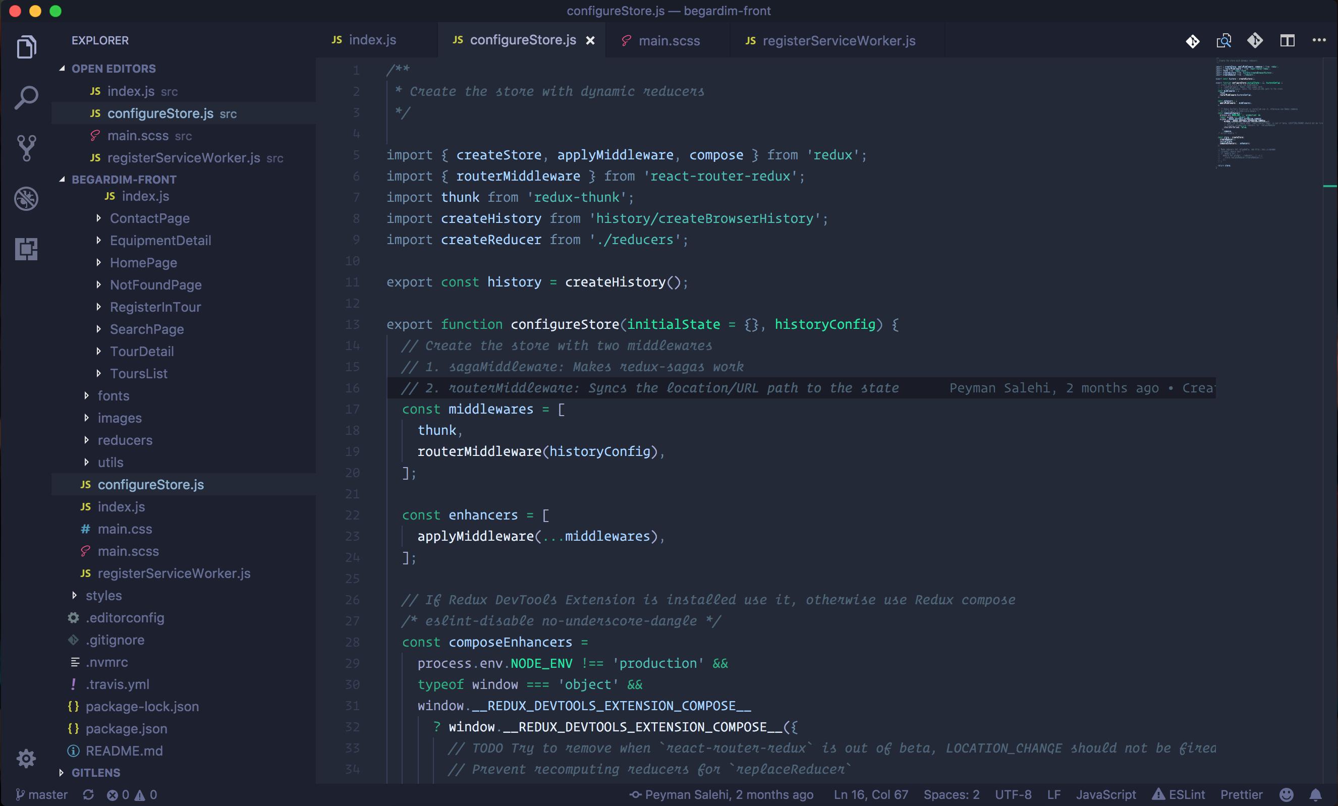 Blueberry VS Code theme