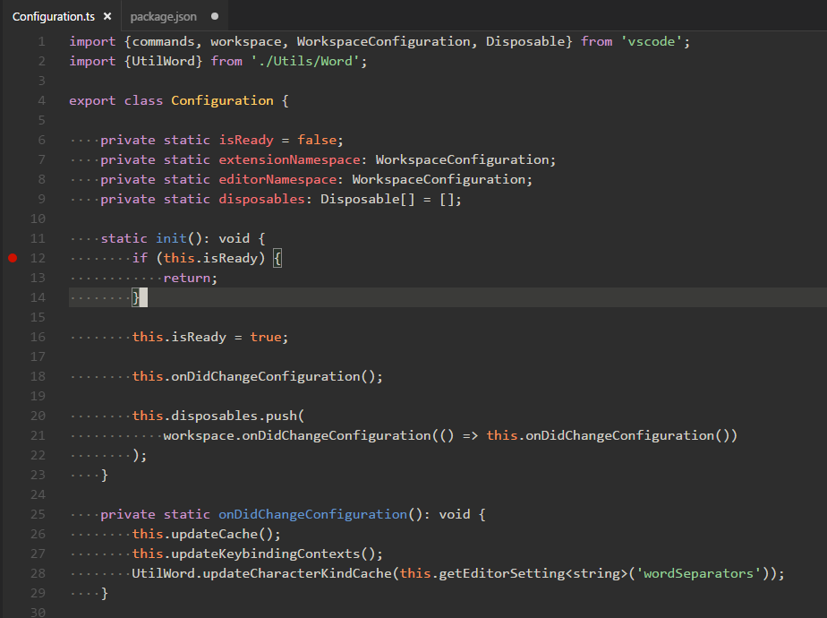 Spacegray VS Code theme