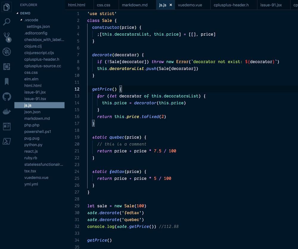 Night Owl for VS Code