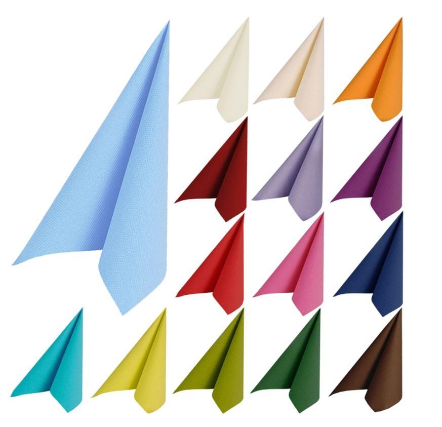 Hochwertige Duni Papierservietten 50´er Packung
