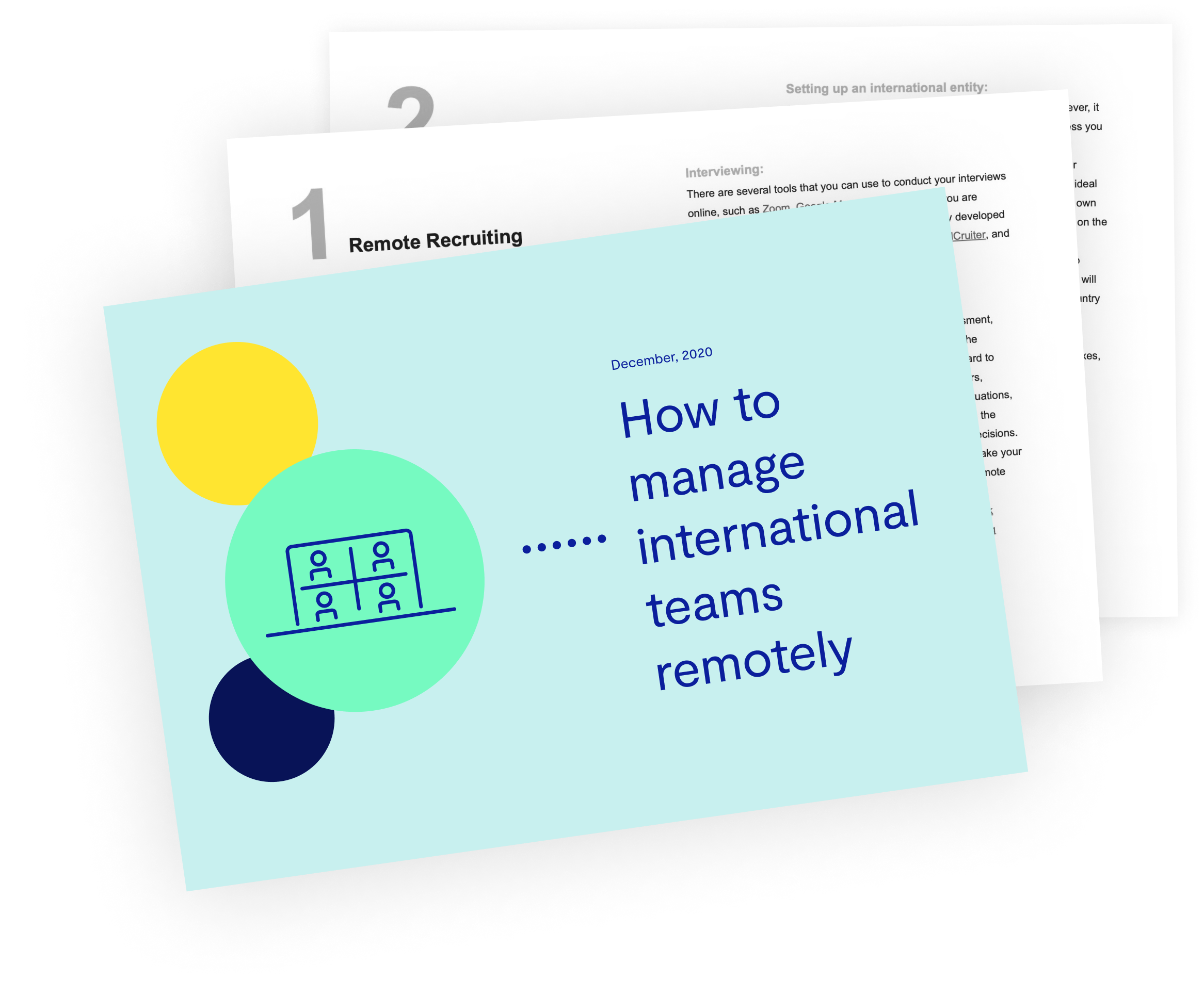 How to manage International Teams remotely