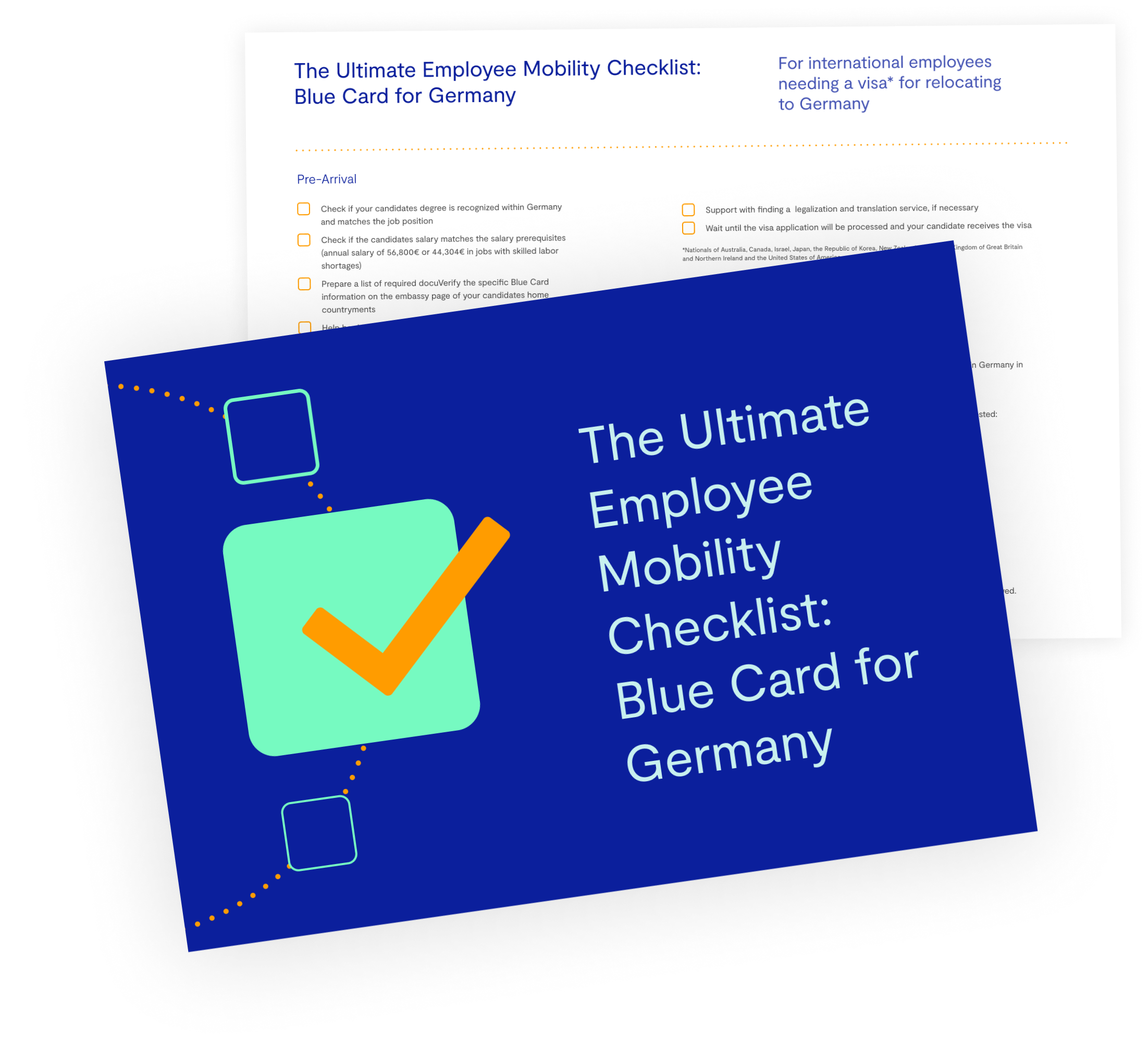 The Ultimate Employee Mobility Checklist: EU Blue Card for Germany