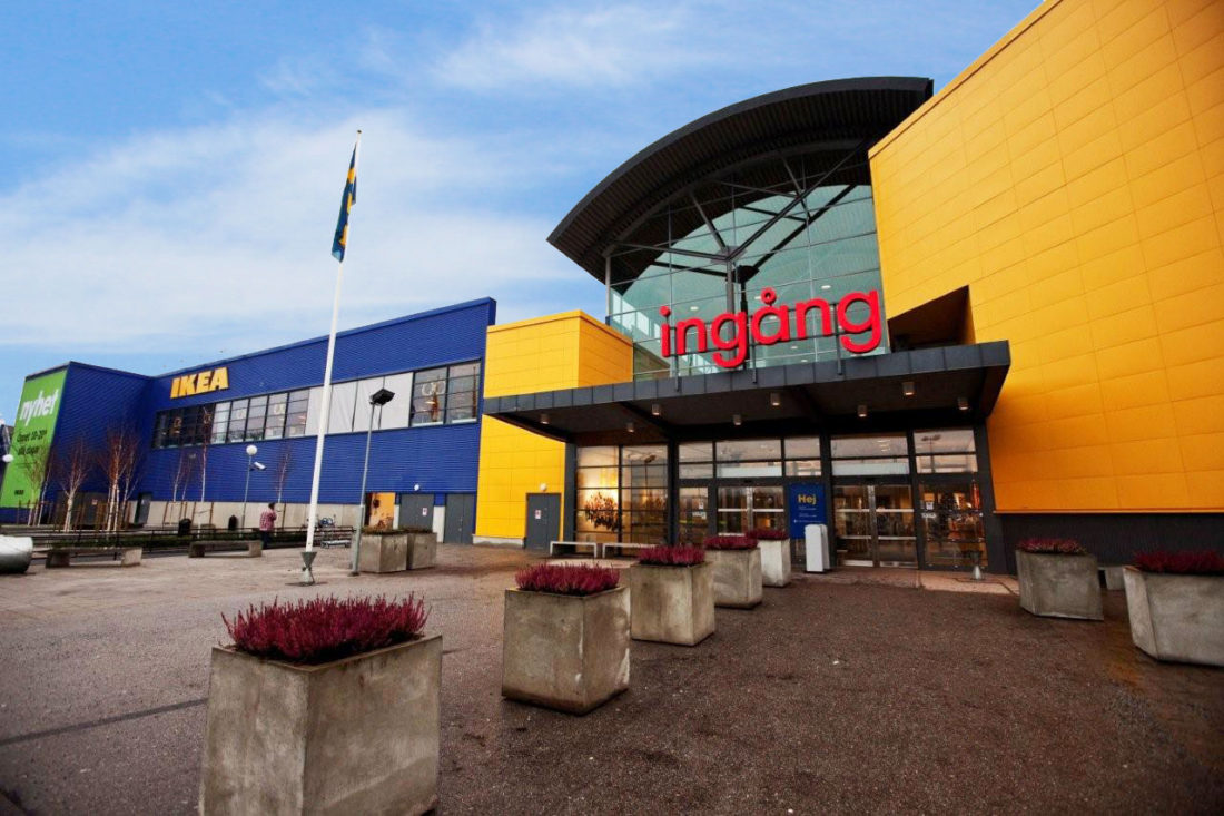 Furniture Giant's Barkarby store