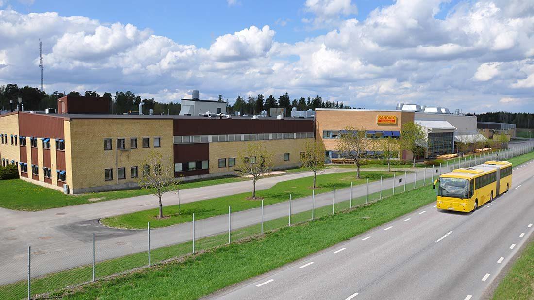 Sandvik Coromant's plant in Gimo