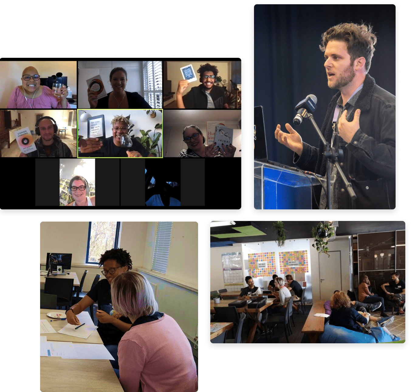 Collection of photos for mentorships