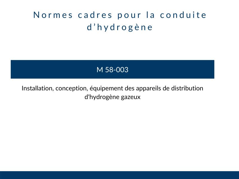 normes conduite hydrogene tuyauterie industrielle