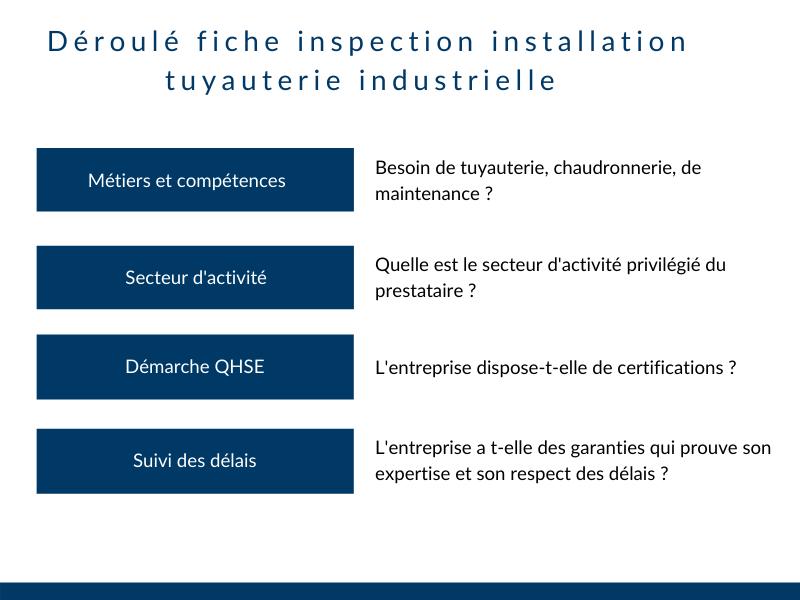 Choisir entreprise tuyauterie industrielle