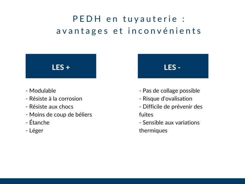 PEHD avantages et inconvénients