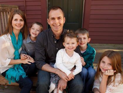 Mike, Lisa and family