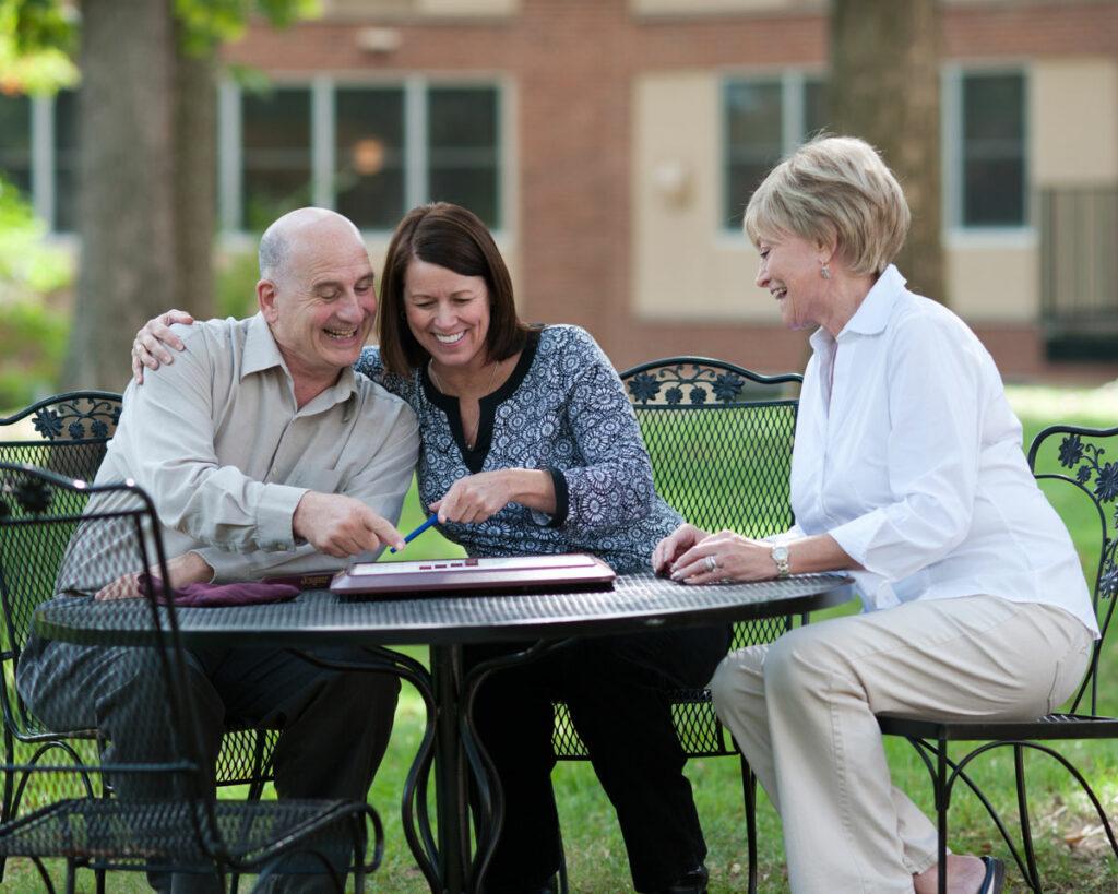 Residents at Vinson Hall Retirement Community, McLean