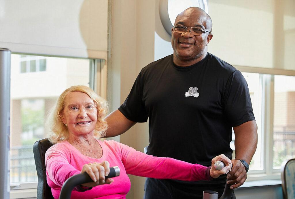 Vinson Hall Retirement Community Wellness, McLean