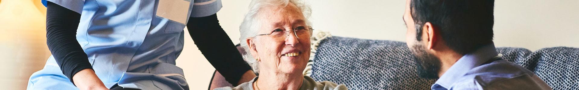 Skilled Nursing Hero Banner, Vinson Hall Retirement Community, McLean