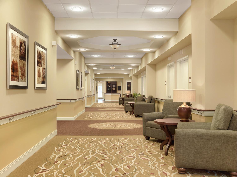 Rehabilitation Floor Image, Vinson Hall Retirement Community, McLean