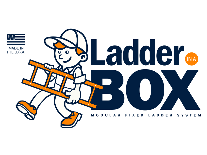 Ladder-in-a-Box Modular Fixed Ladder System