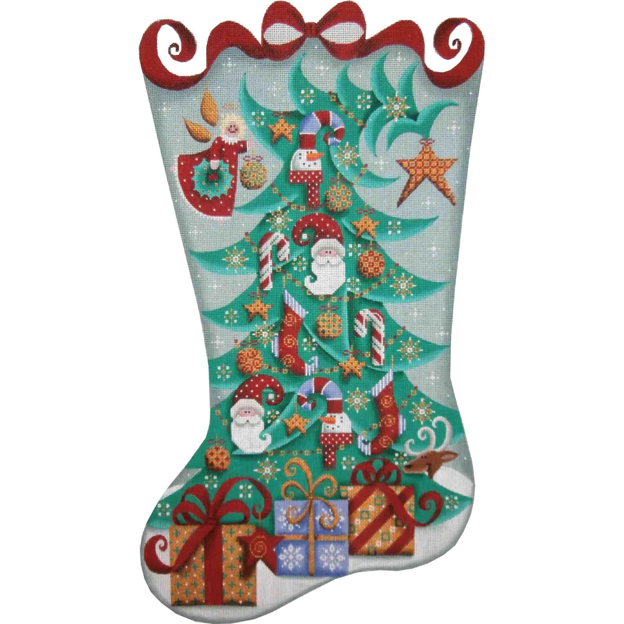 1364 Whimsical Stocking