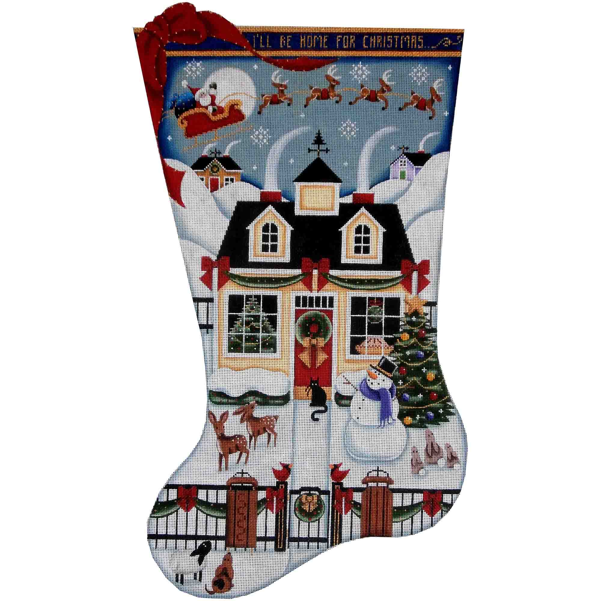 1377b Christmas Cottage