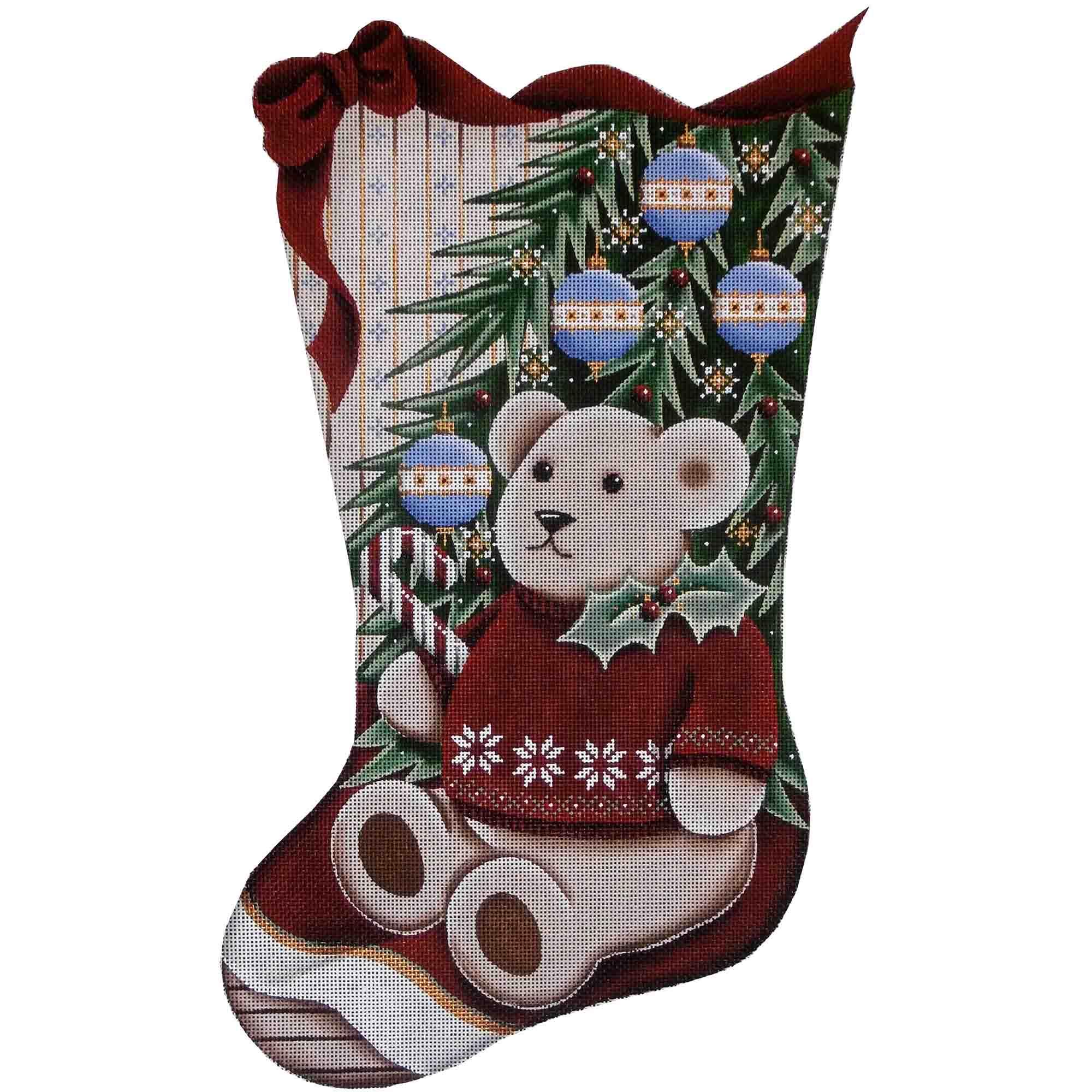 1375a Teddy Bear Christmas