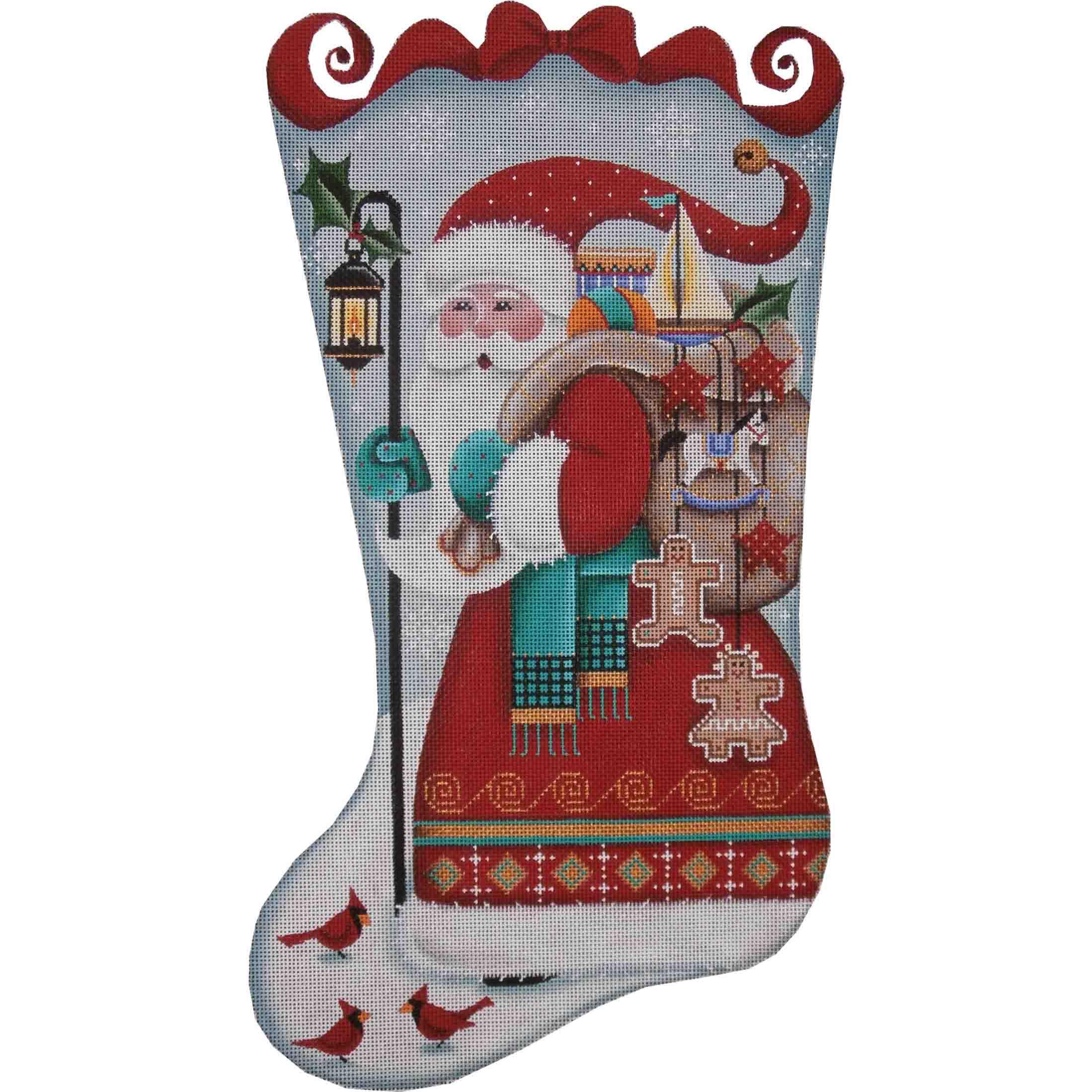 1365a Folk Santa