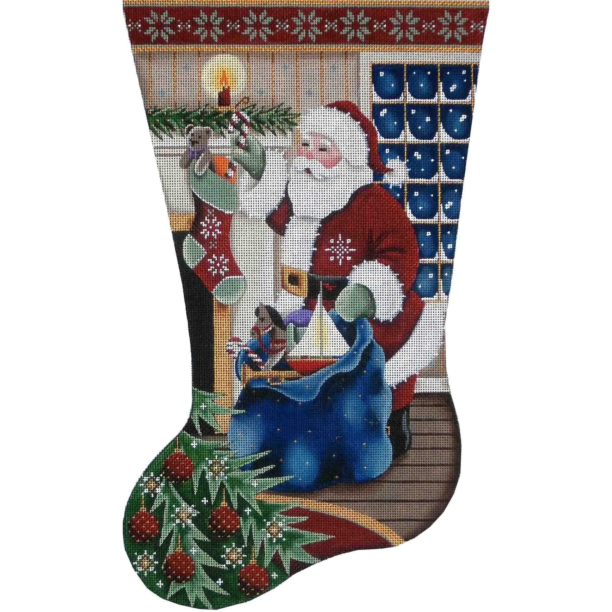 1375c Filling Stockings