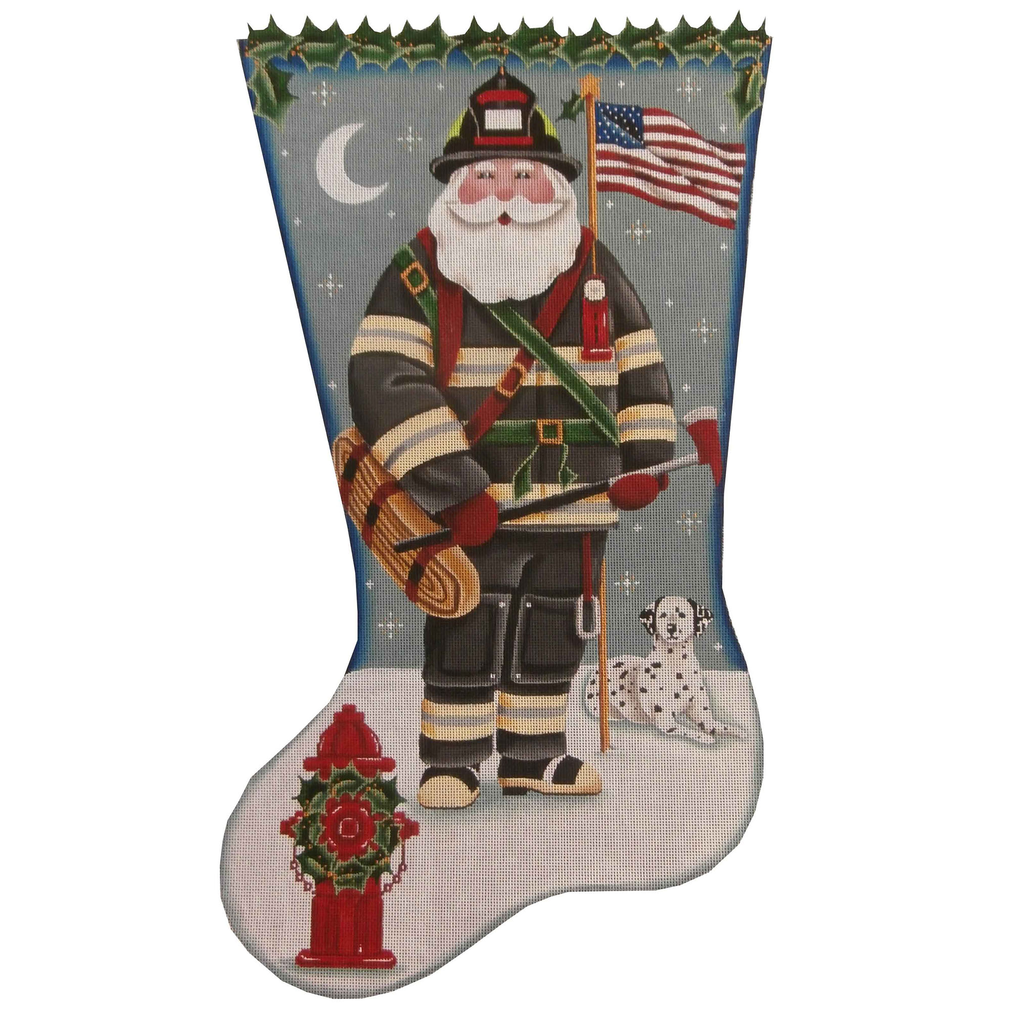 1391 Fireman Santa
