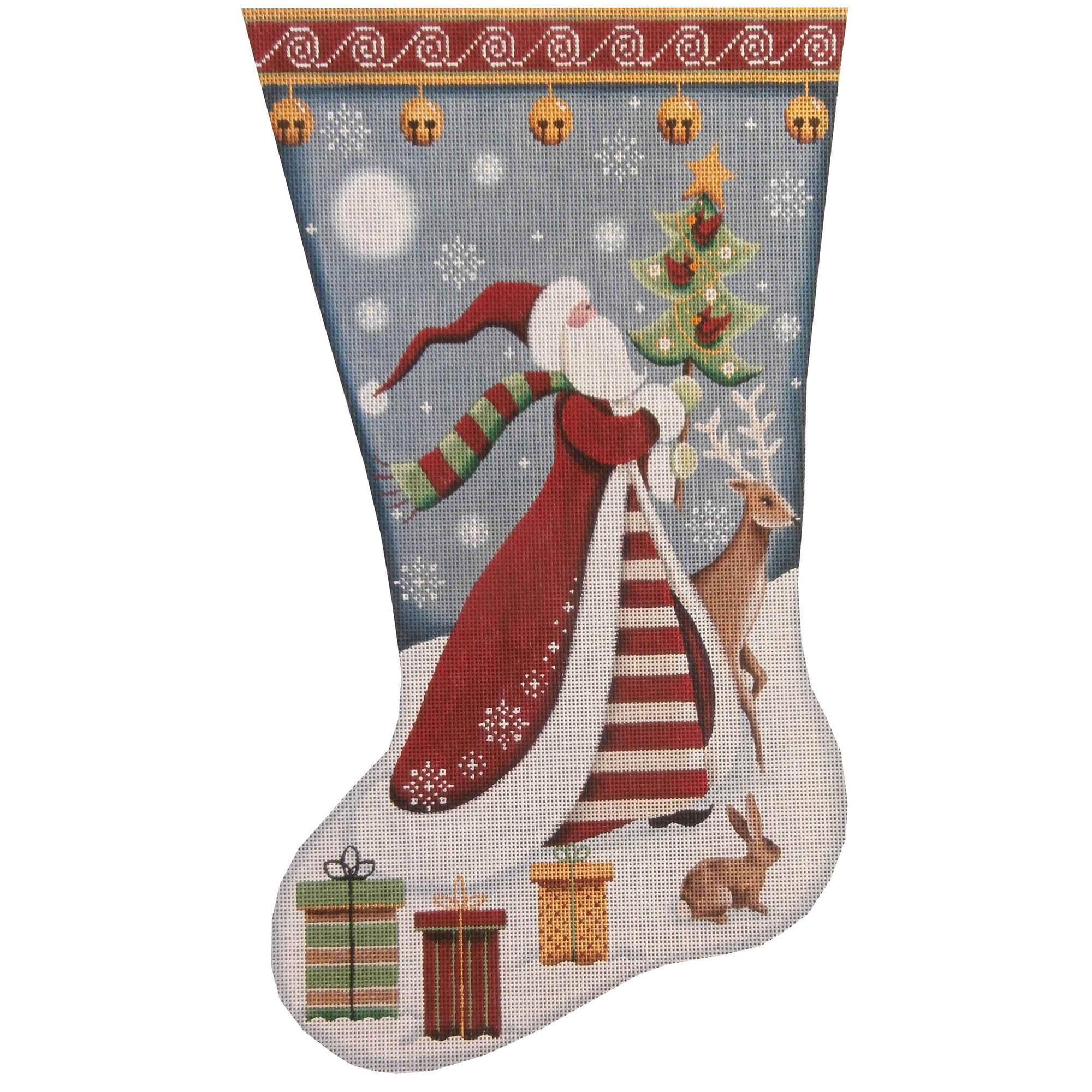 1388a Folk Santa