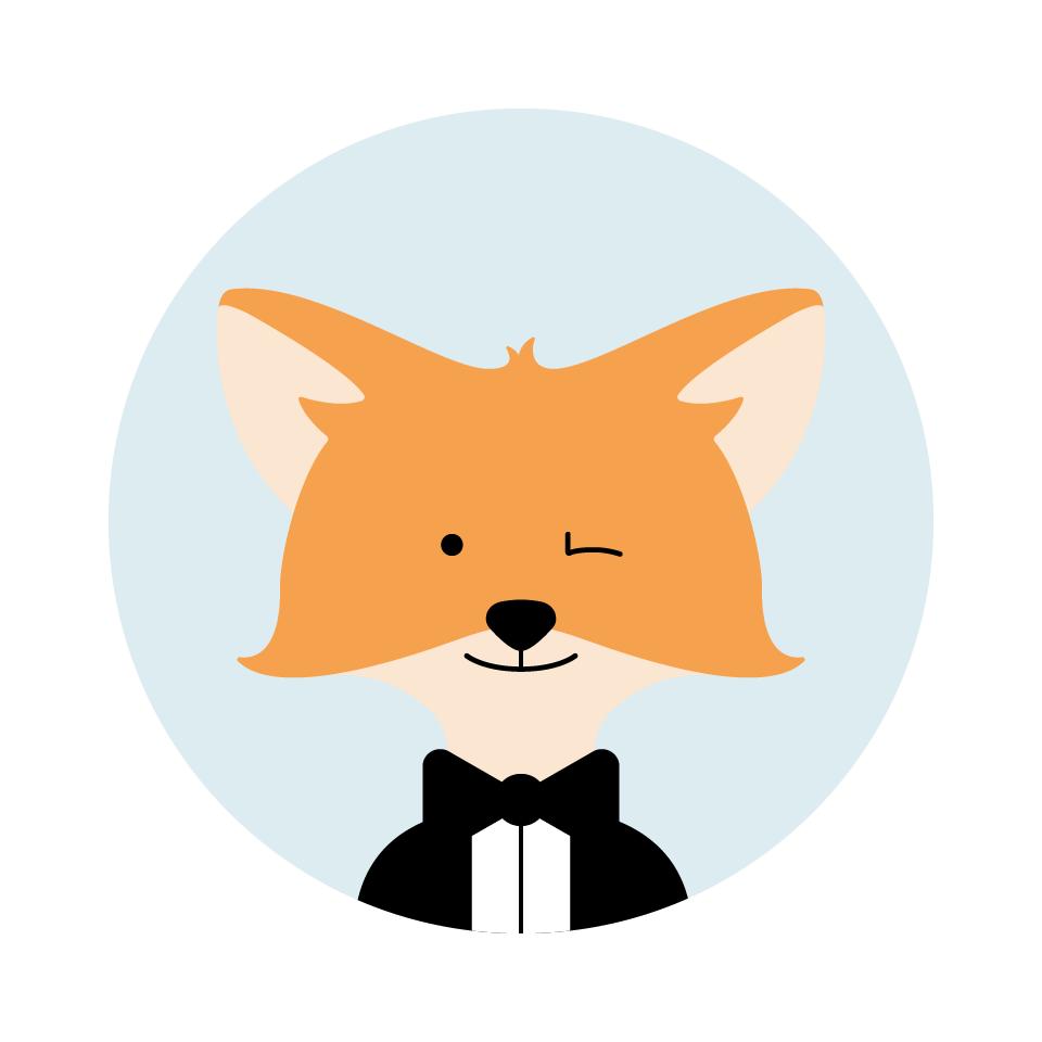 Djigg, petit renard assistant des recruteurs