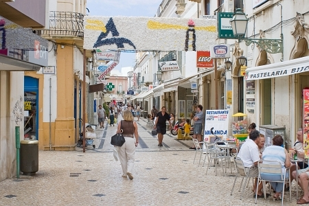 Small streets of Olhao.