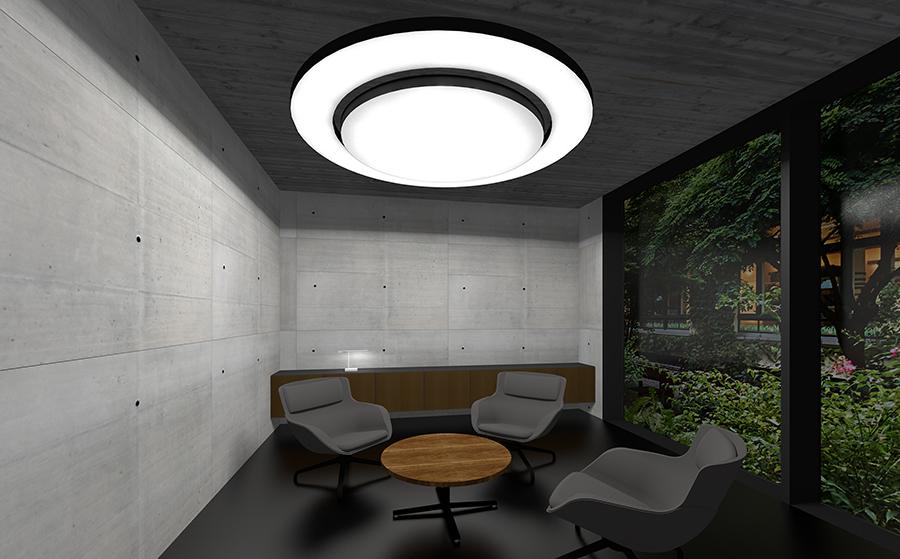 runde LED Lichtdecken