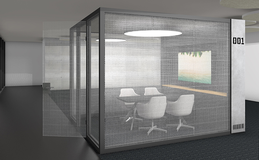 Raum-in-Raum System 3 x 3 meter