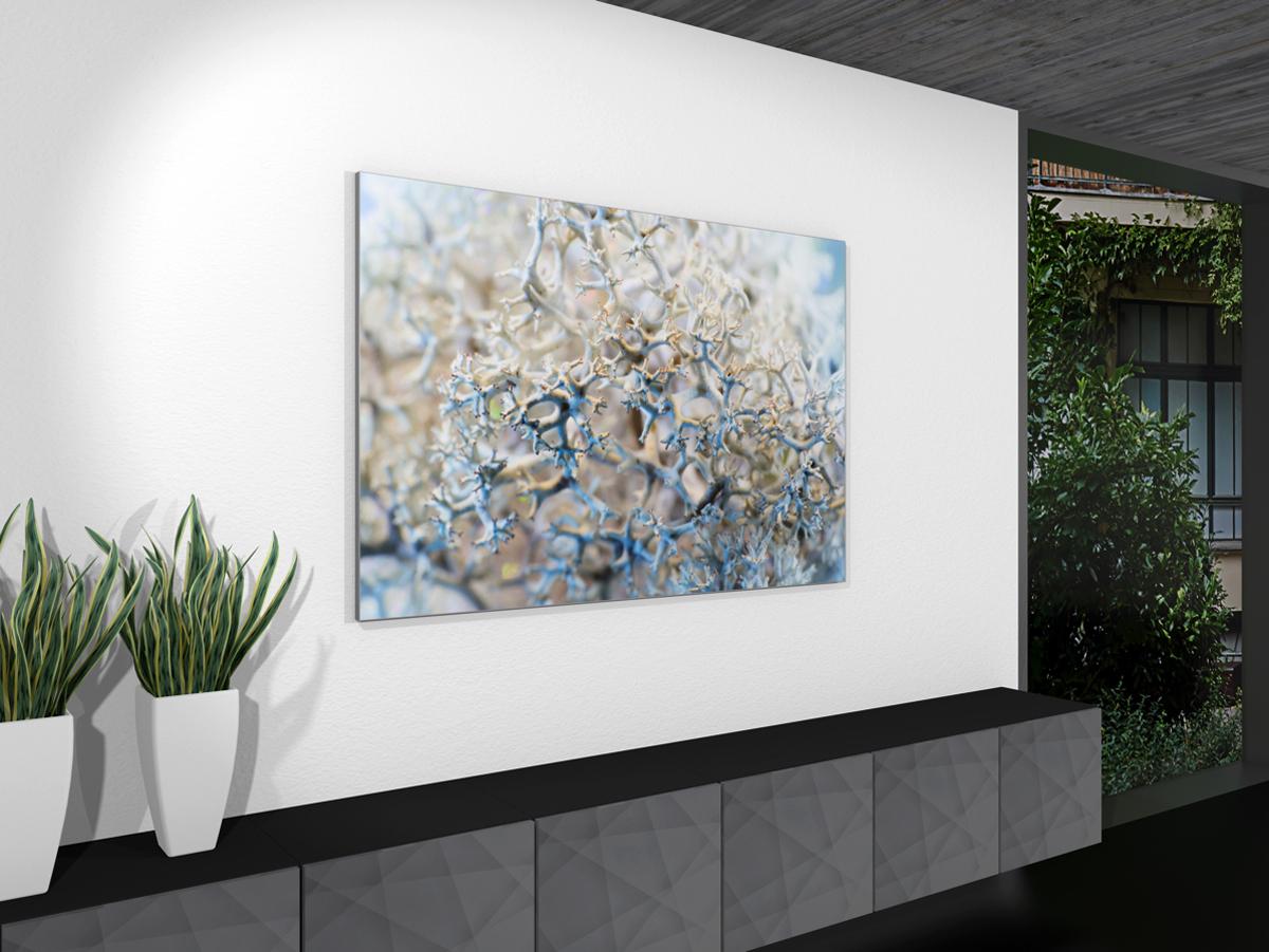Akustikbild an Wand, Motiv Abstract
